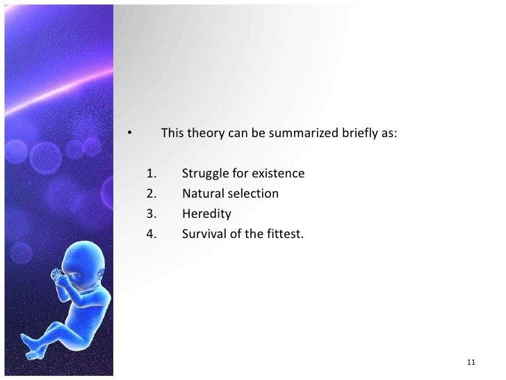 Darwin S Theory Of Natural Selection Assumes That