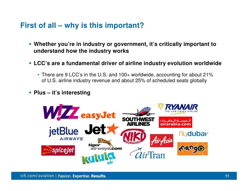 lcc of airline industry Low-cost strategy factors in airline industry: leadership position in the airline industry and become superior over its major low-cost carrier in se.