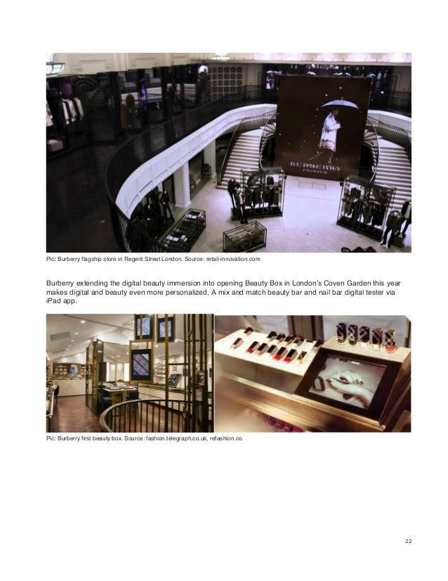 Source Trendslabbcnblogspot 22 Pic Burberry Flagship Store
