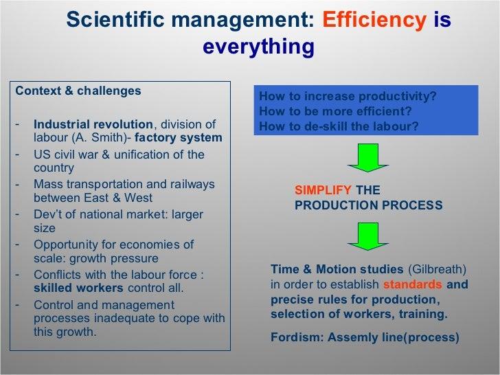 is scientific management still relevant in How do today`s managers use scientific m scientific mnagement means  management theories that still linger  scientific management was used.