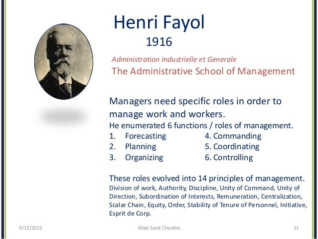 henri fayol five rules of management essay One must note that the principles of management are like guidelines to refer to rather than rules henri fayol's principles of management management essays:.