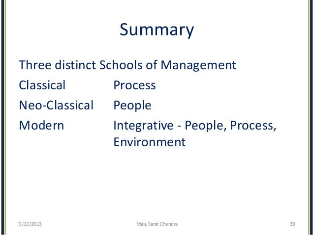 evolution of management thought notes pdf