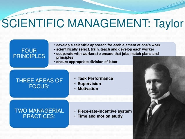 how scientific management influenced management thinking Relate to the aspects of a culture that influence interpersonal relationships   scientific management incorporates several basic expectations of management.
