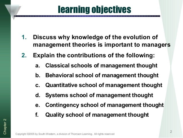 discuss the evolution of management