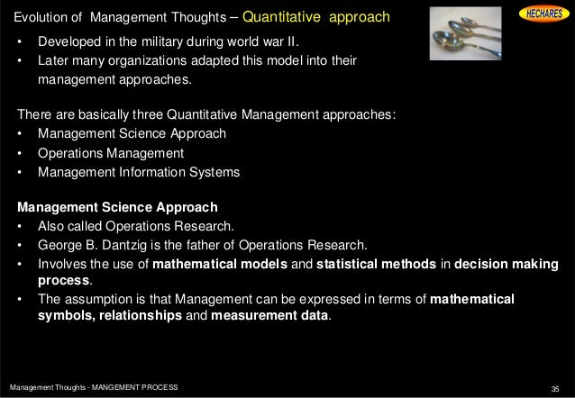 evolution thoughts scientific management Fw taylor's contribution to scientific management and evolution of the scientific school of thought in 1881 taylor published a paper that stated the turning of metal into a science.
