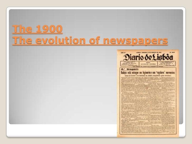 The Evolution of Mass Media