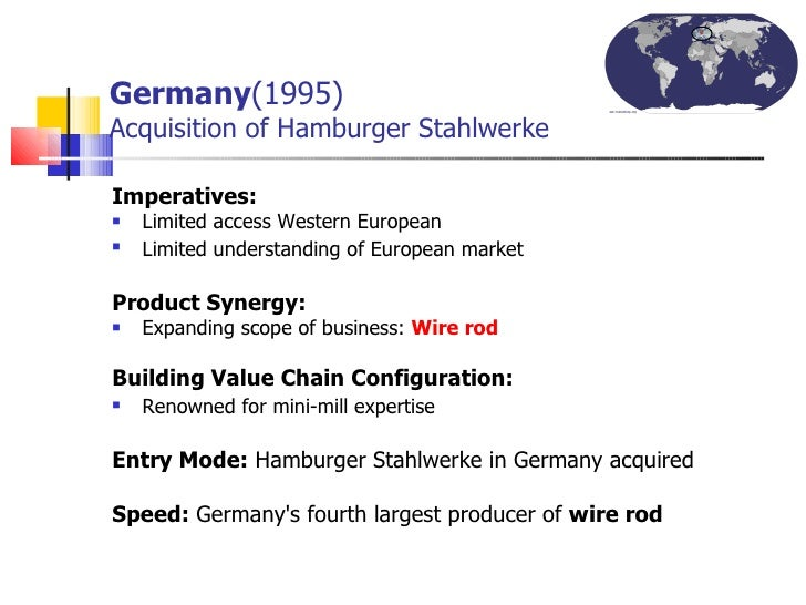 germany market entry mode The market-entry technique that offers the lowest level of risk and the least market control is export and import the highest risk, but also the highest market control and expected return on investment.