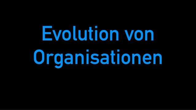 Evolution von Organisationen