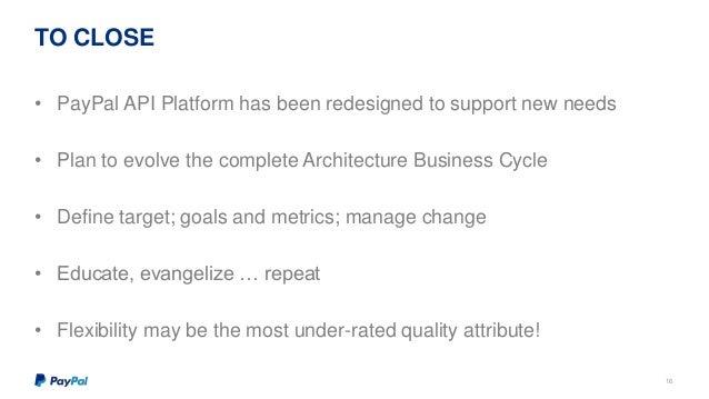 Evolution of PayPal API Platform at API Meetup