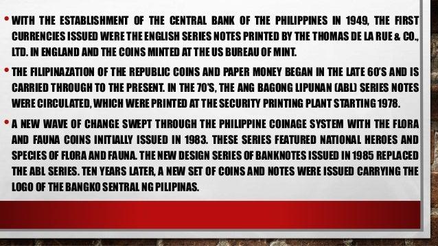 evolution of philippine money pdf