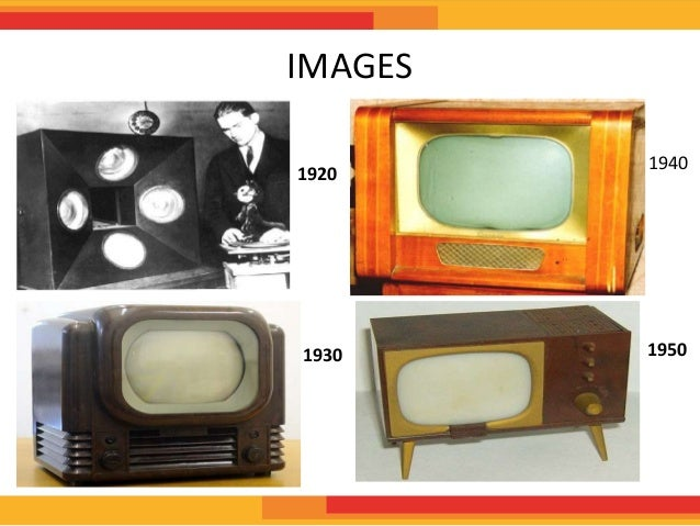 the evolution of television Evolution of the television the television is an invention that over 985% of american families have in their house today the tv is mostly used.