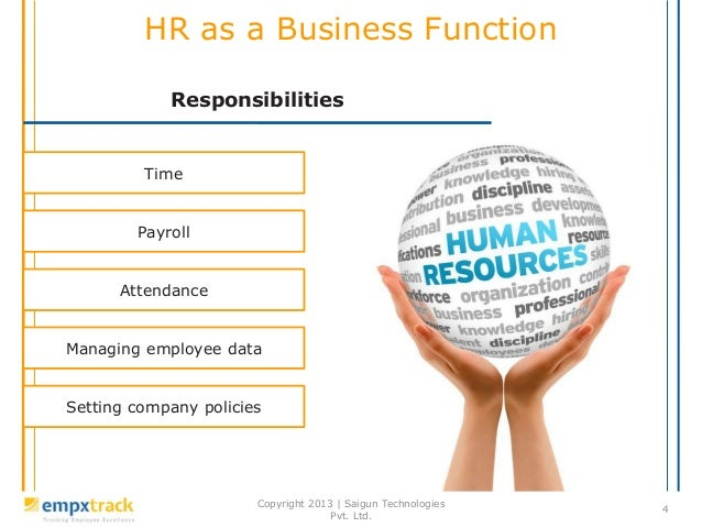 hr function Human resource management (hrm or hr) is the strategic approach to the effective management of organization workers so that they help the business gain a competitive.