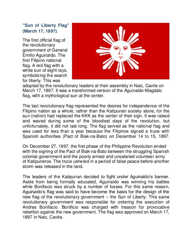 Evolution of the Philippine Flag Essay Sample