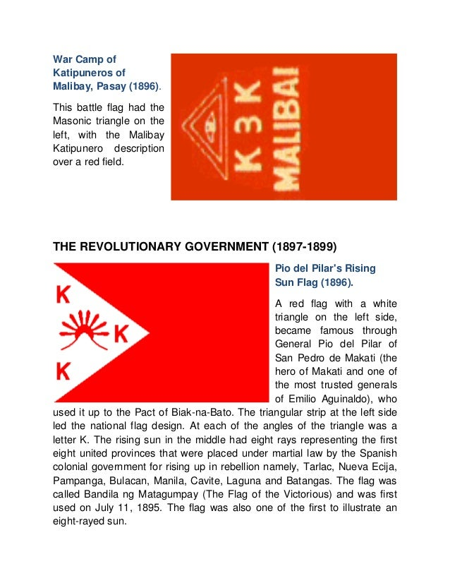 Flags of the Philippine Revolution