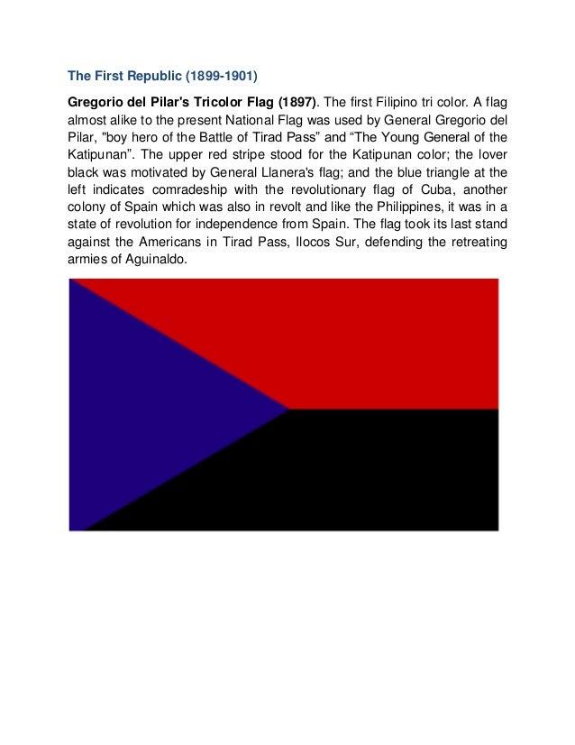 Dating watawat ng Pilipinas