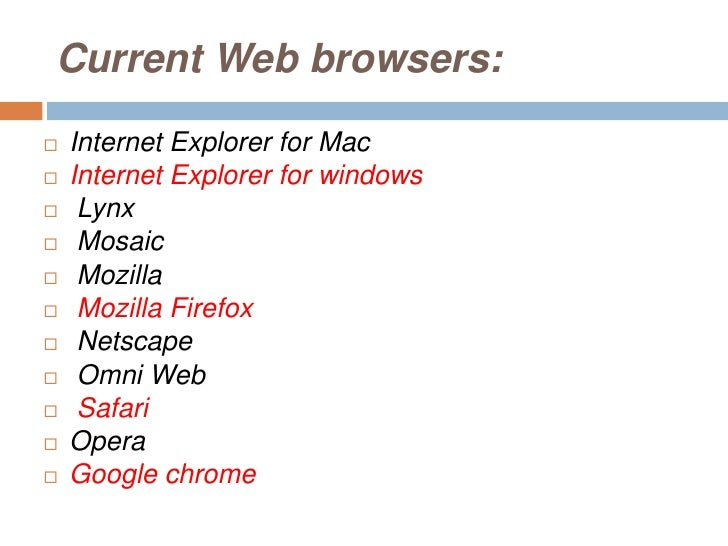the evolution of web browsers essay A brief history of html a system to allow scientists to share papers with other using electronic networking the portable web browser as freeware.