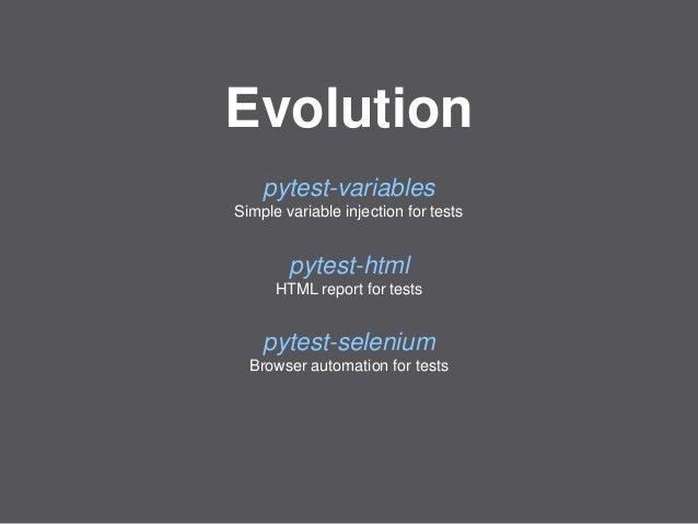Mozilla Web QA - Evolution of our Python WebDriver framework