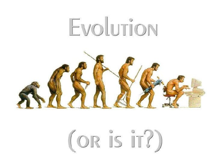 Evolution• Process by which species of organisms change  over time• Thing evolve around us all the time• Based on scientif...