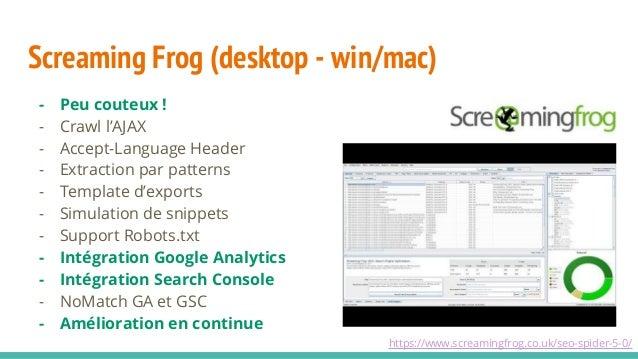Evolutions et nouveaux outils SEO Slide 21