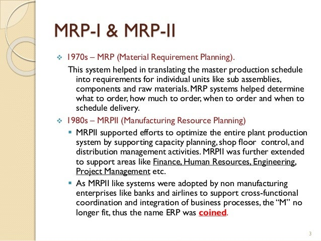 Evolution Amp Structure Of Erp