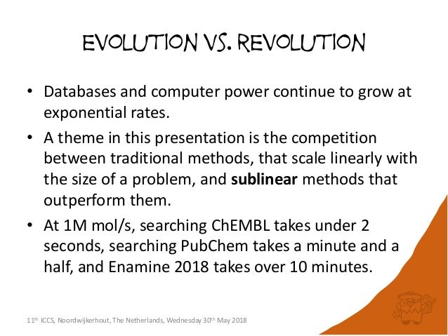 Recent Advances in Chemical & Biological Search Systems: Evolution vs Revolution Slide 2