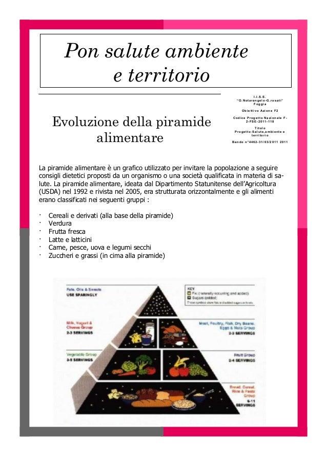 evoluzione della piramide alimentare
