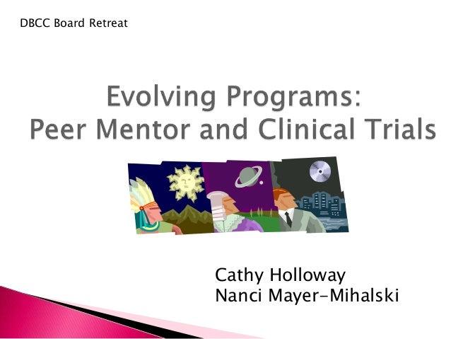 DBCC Board Retreat Cathy Holloway Nanci Mayer-Mihalski