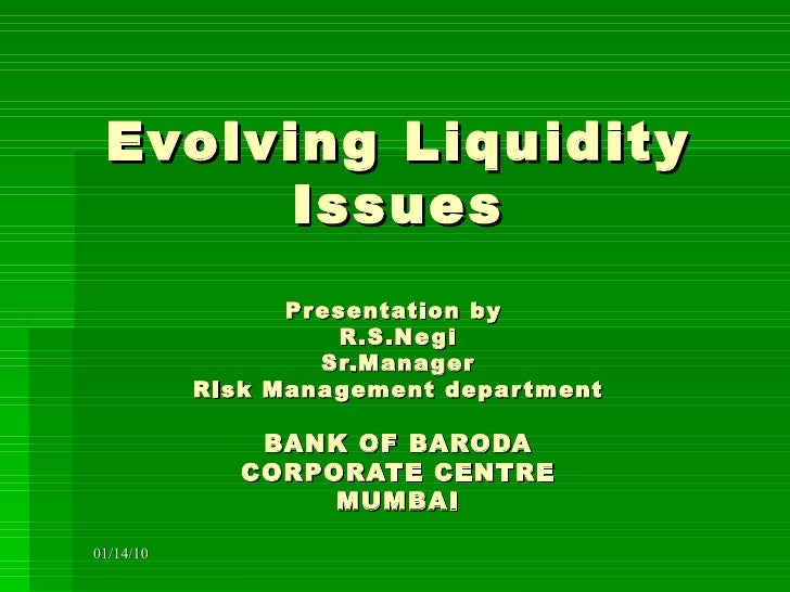 liquidity management policy in the banks of bangladesh The state of liquidity and the risk management practices of islamic banks across  countries and  the international level and some rules proposed in basel iii for  liquidity risk  the variability is found to be low in bangladesh, indonesia,  kuwait,.