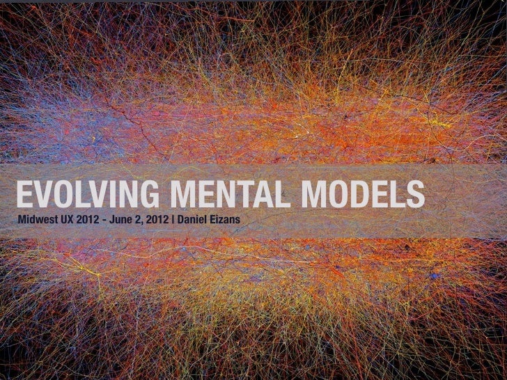 EVOLVING MENTAL MODELS Midwest UX 2012 - June 2, 2012 | Daniel Eizans