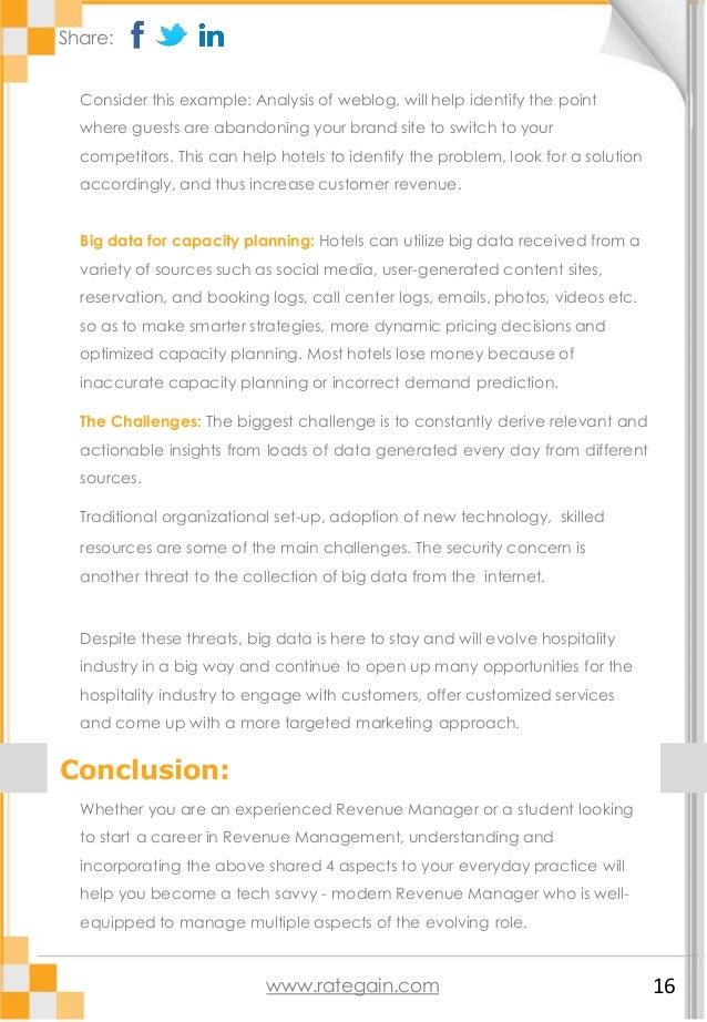 Evolving role of Hotel Revenue Managers (e-guide)
