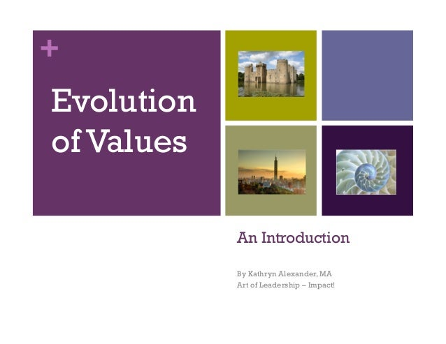 + An Introduction By Kathryn Alexander, MA Art of Leadership – Impact! Evolution of Values