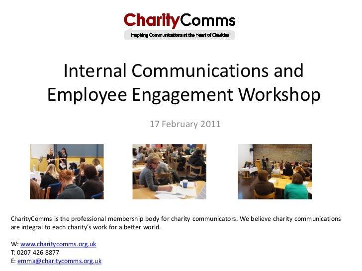 Internal Communications and           Employee Engagement Workshop                                             17 February...