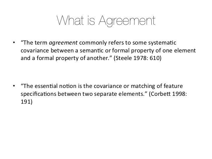 The Evolution Of Morphological Agreement