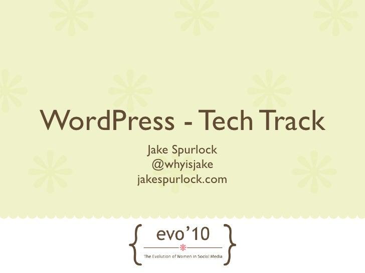 WordPress Beginner Track Slide 2