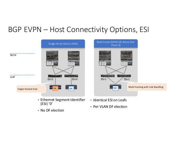 Designing Multi-tenant Data Centers Using EVPN