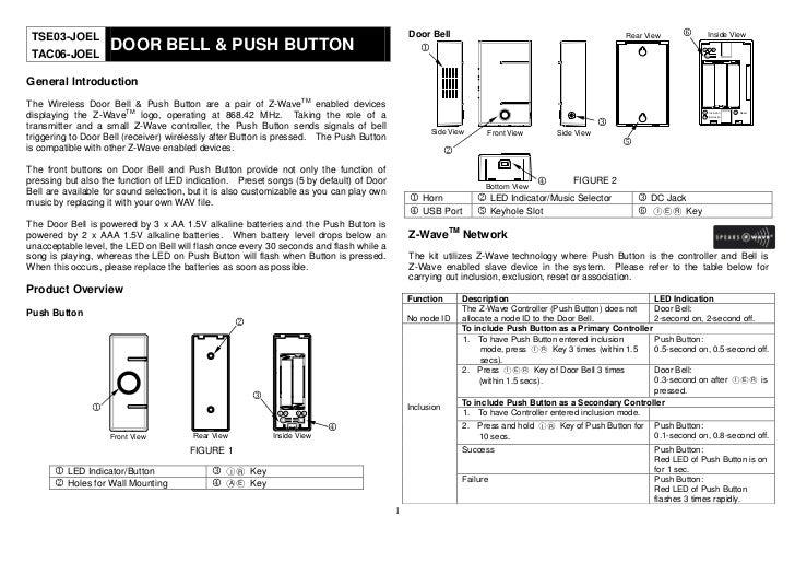 TSE03-JOEL                                                                                   Door Bell                    ...