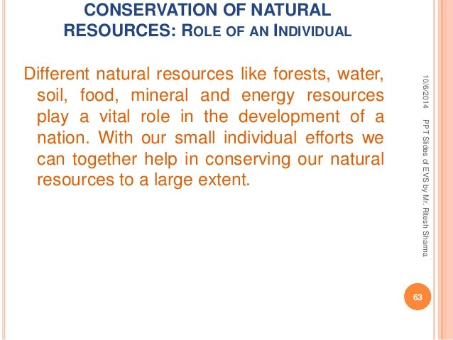 Types Of Exploitation Of Natural Resources