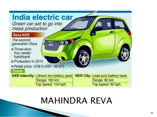 Electric Car Companies In India