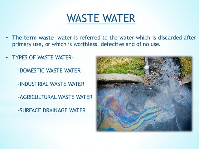 Wastewater Treatment Methods Effects Of Ww On Soil