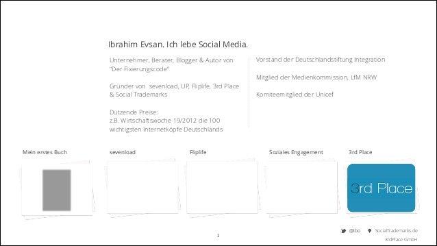 """Ibrahim Evsan. Ich lebe Social Media. Unternehmer, Berater, Blogger & Autor von """"Der Fixierungscode""""  Vorstand der Deutsc..."""