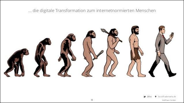 ... die digitale Transformation zum internetnormierten Menschen  @Ibo  !6  SocialTrademarks.de 3rdPlace GmbH