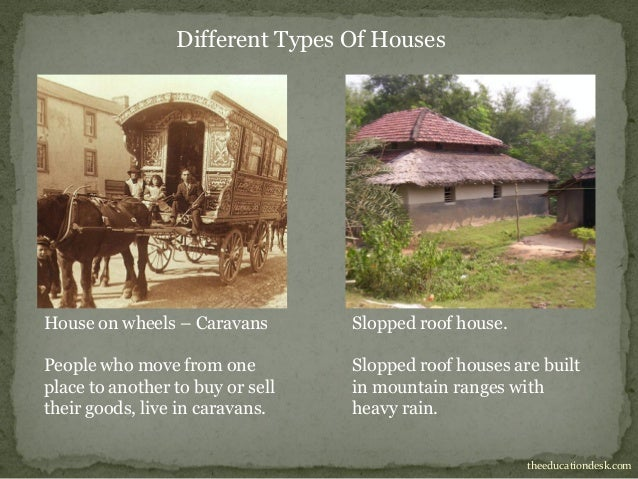 different types of houses essay