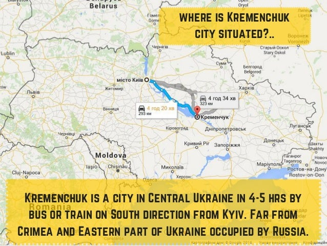 Evs In Kremenchuk For Polish - Kremenchuk map