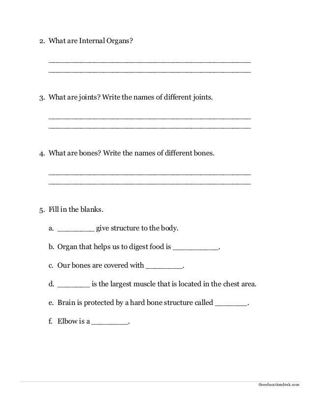 Worksheets For Grade 2 Evs - free download cbse worksheets