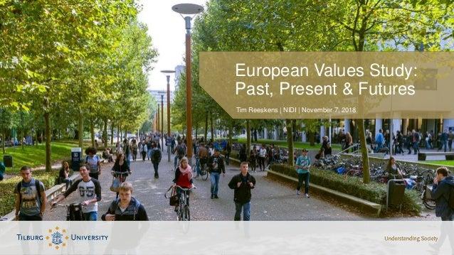 Tim Reeskens | NIDI | November 7, 2018 European Values Study: Past, Present & Futures