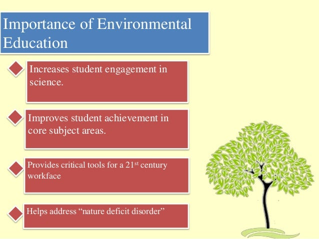 12 guiding principles for environmental education