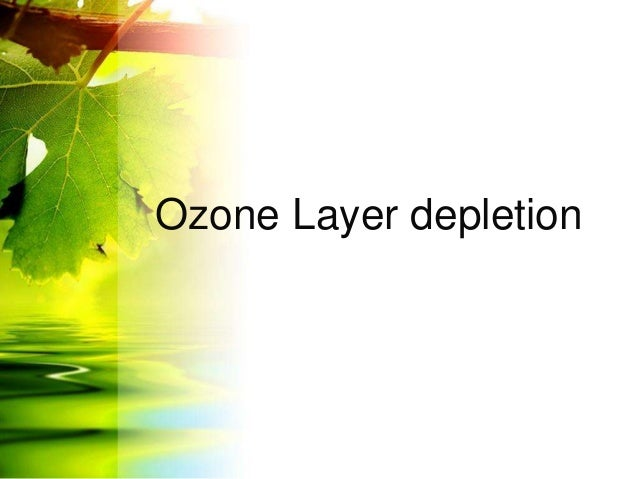 the ozone layer and climate change essay Ozone depletion and climate change have usually been thought of as environmental issues with little in common other  the ozone layer is found in the .
