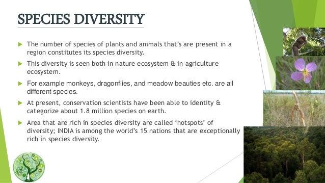 Biodiversity Its Types
