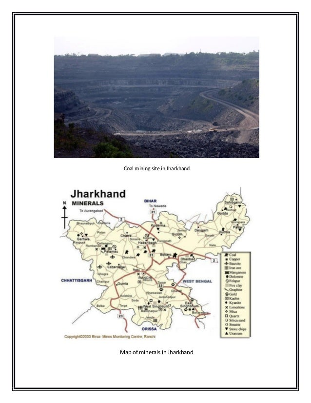Effects of coal mining in Jharkhand India