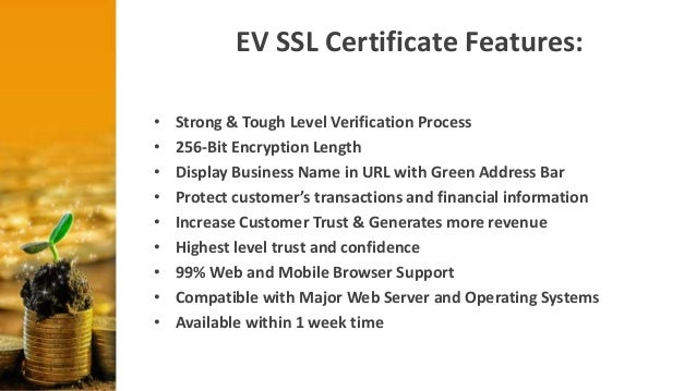 Ev Ssl For Website Security Financial Benefits Of The